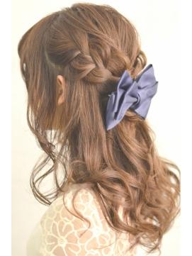可愛い髪型 可愛い髪型 ロング やり方 : ★ 七五三・結婚式・パーティ ...